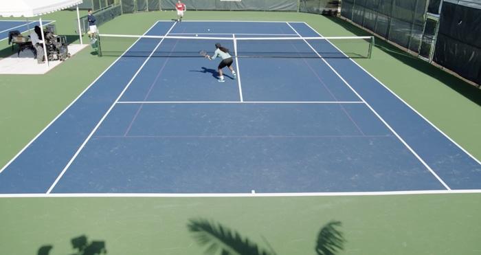 Serena Williams approach shots
