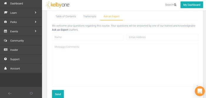 KelbyOne ask an expert