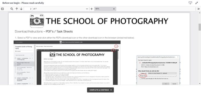 How theschoolofphotography works